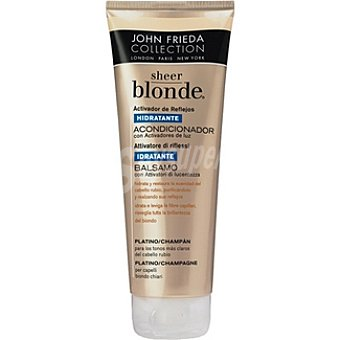 JOHN FRIEDA Sheer Blonde Acondicionador hidratante platino champán Frasco 250 ml