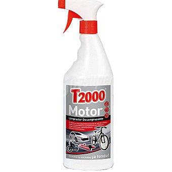 T2000 Limpiador desengrasante de motores y bicicletas Spray 750 ml