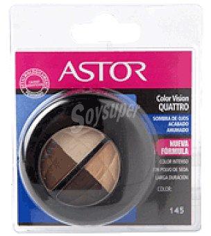 Astor Sombra de ojos quattro de colores ahumados nº145 1 ud