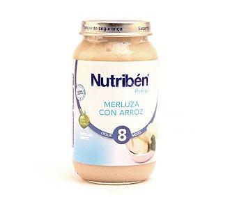Nutribén Tarrito de merluza con arroz a partir de 8 meses Tarro 250 g