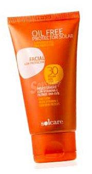 Solcare Protector solar facial F30 oilfree Tubo 75 cc