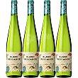 Vino blanco de aguja fermentación natural Cataluña Caja 4 botellas 75 cl Blanc Pescador