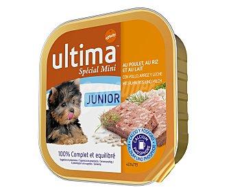 Ultima Affinity Alimento de pollo, arroz y leche para perros junior-mini 150 gramos