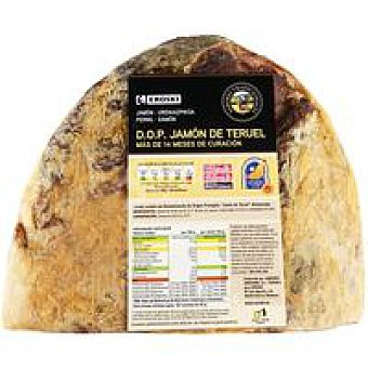 DOP Teruel corte cuchillo EROSKI S.Tradicionales Jamón 200 g