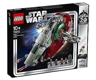 LEGO Star Wars Juego de construcción Esclavo I (edición 20 Aniversario) con 1007 piezas, Star Wars 75243 lego