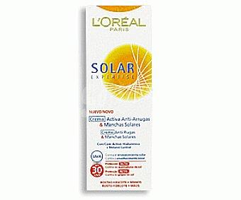 L'Oréal Crema Solar Pieles Claras. Factor de Protección 30 75ml