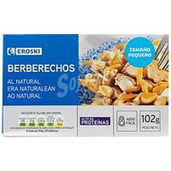 Eroski Berberechos pequeños Lata 58 g