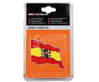 BCCORONA Bandera de España Adhesiva para Automóvil 1 Unidad