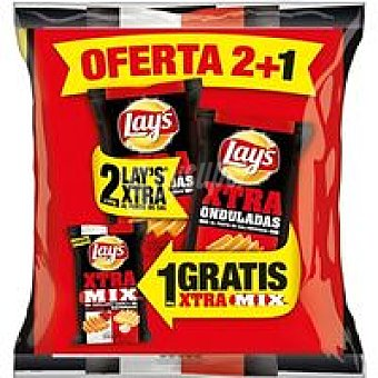 Lay's Lote Xtra sal-xtra mix Pack 380