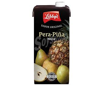 LIBBYS Néctar pera y piña 1 l