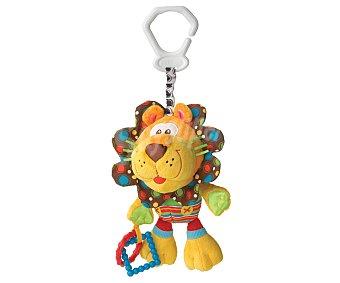 Playgro Peluche león con gancho para silla de paseo, playgro