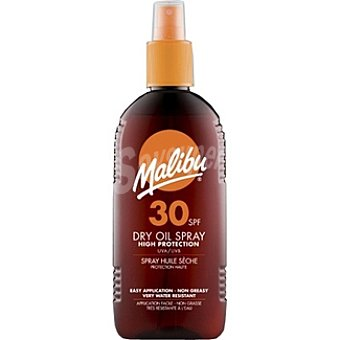 Malibu Aceite bronceador FP-30 Spray 200 ml