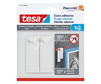 Tesa Clavos adhesivos hasta 1 kg, TESA. 1 kg