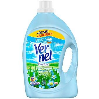 Vernel suavizante concentrado Cielo Azul con perlas perfumadas botella 125 dosis