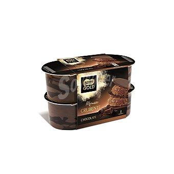 Gold Nestlé Mousse crujiente de chocolate Pack 4 unidades 57 g