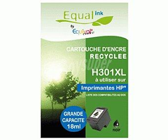 Equalink Cartuchos Reciclables de Tinta H301XL Negro 1u