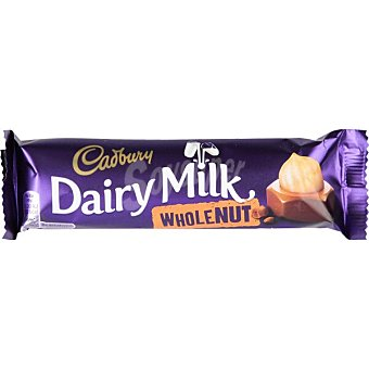 Cadbury Chocolatina Whole Nut Unidad 45 g