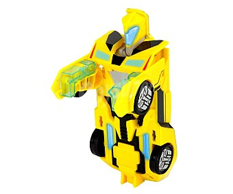 Transformers Coche Transformers con sonidos, 15 centímetros de largo, Bumblebee Robot Warrior 1 unidad
