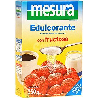 Mesura Edulcorante granulado a base de sacarinos con fructosa Envase 250 g