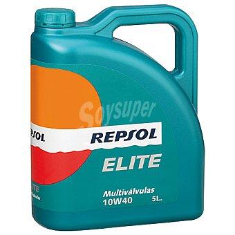 REPSOL Elite Aceite de motor multiválvulas 10W40 bidón 5 l