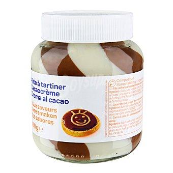 Carrefour Crema de cacao dos sabores 400 g