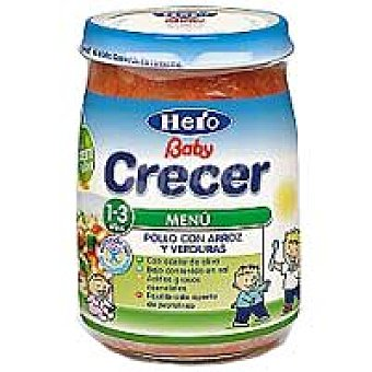 Hero Baby Tarrito de pollo-arroz-verduras Junior