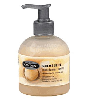 Aldo Vandini Jabón crema vainilla y macadamia 300 ml