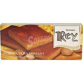 REY Turrón de yema tostada Tableta 200 g
