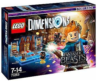 LEGO Pack de historia Animales Fantásticos y donde encntrarlos, incluye 2 figuras y escenario interactivos Lego Dimensions 1 unidad