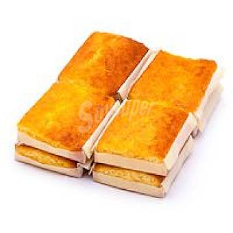 EROSKI Sobao de mantequilla paquete 380 g