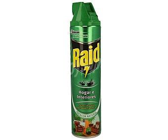 Raid Insecticida para hogar-plantas Spray 600 ml