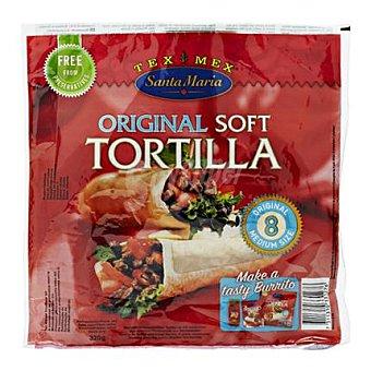Santa María Tortilla para burritos 320 g