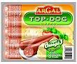 Salchicha Top Dog Con Queso 170g Argal
