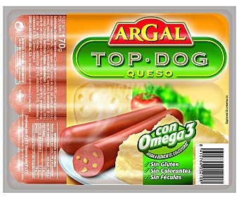 Argal Salchicha Top Dog Con Queso 170g