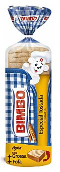 Bimbo Pan de molde con corteza especial tostada con rebanada más gruesa bolsa 750 g