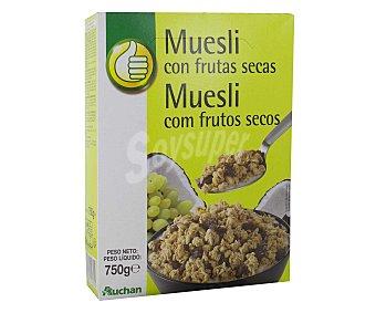 Productos Económicos Alcampo Cereales muesli con frutas secas 750 gr