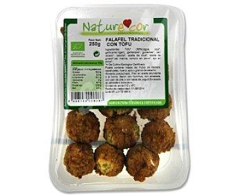 Naturecor Falafel tradicional con Tofu Biológico 250 Gramos
