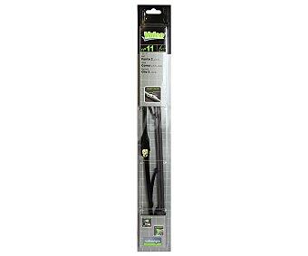 VALEO Limpiaparabrisas de 450 milímetros de longitud, con adaptador de ajuste tipo U y avisador de desgaste incorporado 1 unidad