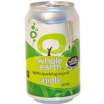 WHOLE EARTH Refresco de manzana sin azúcar ecológico Envase 330 ml