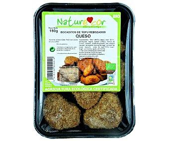 Naturecor Bocadito de Tofu y Queso Ecológico 150 gramos