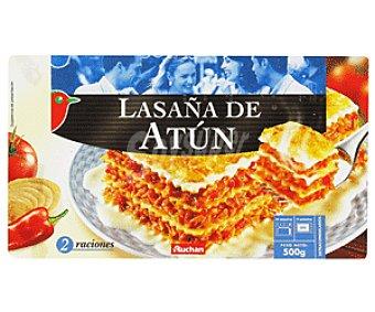Auchan Lasaña de Atún 500g