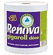 Papel de cocina Gigarrollo decorado 2 capas Envase 1 rollo Renova