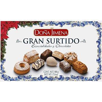 DOÑA JIMENA Gran Surtido Especialidades y Chocolates Doña jimena Gran Surtido Especialidades y Chocolates Estuche 500 g