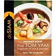 Sopa thai tom yam instantánea sobre 50 g sobre 50 g deSIAM