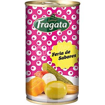 FRAGATA Aceitunas gazpacha sin hueso Feria de Sabores  lata de 150 g