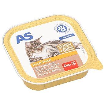 AS Alimento para gatos con cordero e hígado Tarro 100 g