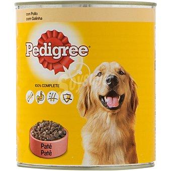 Pedigree Alimento para perro con pollo especial adulto  Lata de 800 g