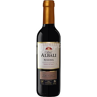 Viña Albali Vino tinto reserva D.O. Valdepeñas Botella 37,5 cl