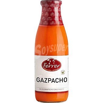 Ferrer Gazpacho con aceite de oliva botella 720 ml 720 ml