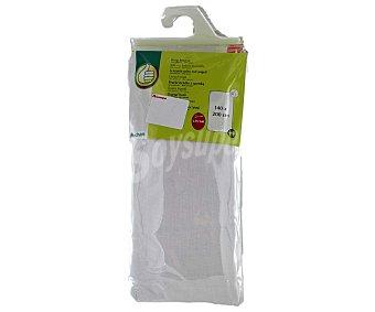 Productos Económicos Alcampo Sábana bajera color blanco, 170x140x30 centímetros 1 Unidad